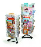 3 Sided Mobile Book Stand - Large